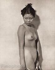 1950's Vintage THAILAND FEMALE NUDE Asian Oriental THAI Photo Art JOHN EVERARD
