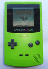 GLASS LENS Nintendo Game Boy Color Launch Edition lime green Kiwi Handheld Syste