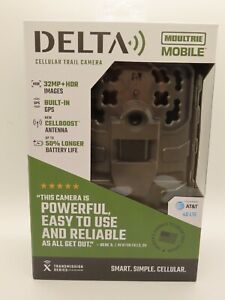Moultrie Mobile Delta Cellular Trail Game Scouting Camera 4G LTE 32MP - AT&T