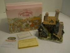 1983 David Winter Cottage Hartford Court Display + Coa + Original Box Rare