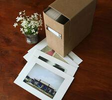 Chic 70 Paper Photo Frames in Paper Photo Storage Box - 4 x 6