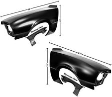 70-76 Ford Maverick Front Fenders Without Side Lamp Hole DynaCorn Pair