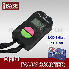 Digital Tally Counter Electronic LCD Hand Clicker Bouncer Crowd Golf Number L5x1
