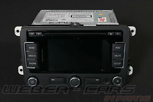 VW Tiguan Beetle Golf VI 6 7 Passat Cc Satnav Code GPS Unit Rns 315 Nar USA