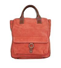 J. Crew Orange Suede Tote Bag