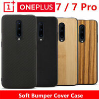 For OnePlus 7 Pro 7 6T 5T Shockproof Hybrid Nylon Carbon Fiber Matte Case Cover