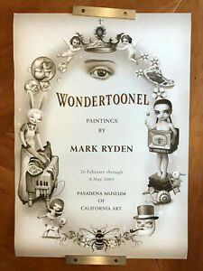 Mark Ryden - Wondertoonel - 2005 - 17 x 24 inch art poster - RARE