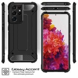 Shockproof Armor Cover Case Heavy Duty for Samsung Galaxy S21 S20 S9 A51 A71 A90