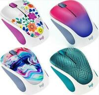 Logitech M317 Design Collection Wireless Optical Mouse with Unifying Receiver