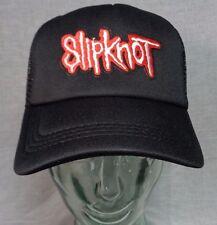 slipknot trucker hat mesh cap snapback heavy metal corey taylor slayer metallica