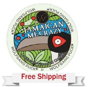 Wolfgang Puck Jamaican Me Crazy Coffee 24 Count For Your Keurig Brewer