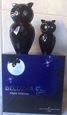 Geschenkset Belluna Night Intense 2 x Eau de Parfum Eulen Glitzer Damen Luxus