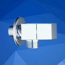 Bathroom Stainless Steel Thread Angle Stop Valve Water Filling Valves Chrome
