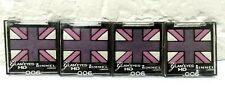 4 Pcs ! Rimmel Glam Eyes Hd 006 Purple Reign Quad Eye Shadow Sealed!