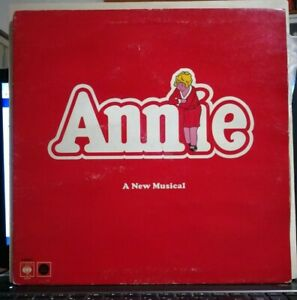 ANNIE - A NEW MUSICAL - VINILE LP 33 GIRI IMPORT U.K. 1977 CBS 70157