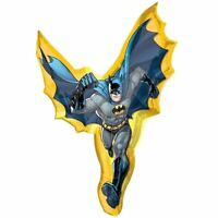 "Batman 39"" SuperShape Foil Balloon - DC Superhero Birthday Party Decorations"