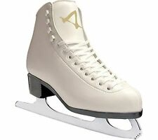 American Athletic Shoe Women's Tricot Lined Ice Skates White Size 9 Style 522