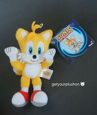 """SONIC THE HEDGEHOG TAILS 8"""" PLUSH NEW WITH TAGS BY TOMY"""