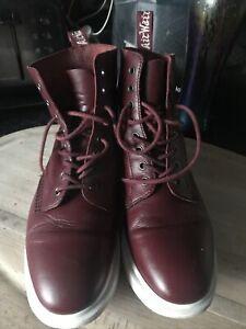 Dr. Martens Ox Blood leather softwair lite boots UK 9 EU 43
