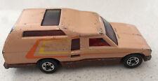 1980 HOT WHEELS MINITREK Campervan Used