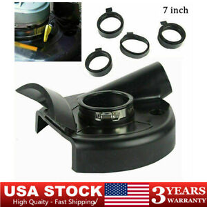 7 inch Vacuum Dust Shroud Grinding Cover for Angle Hand Grind Grinder Polisher