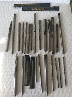 Vintage Tools REAMERS Machinist HSS Cobalt Cutting Lot 25 USA