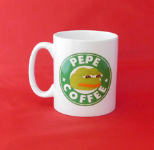 Pepe the Frog Meme Starbucks Inspired Coffee Mug 10oz
