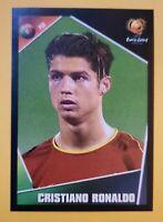 🔥CRISTIANO RONALDO ROOKIE 🔥 CR7 RARE  RC Sticker Panini EURO 2004 Excellent 2