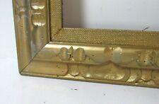 ART NOUVEAU, ART DECO HAND CARVED GILDED WOOD FRAME FOR PAINTING 20 X 16 INCH