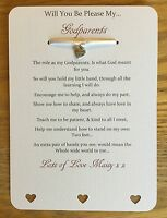 Will You Be My Godfather, Godmother, Card, Godparent Personalised From Child
