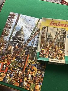 REBUILDING NEAR ST PAUL'S - vintage jigsaw puzzle EMBASSY TOWER PRESS - COMPLETE