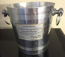VINTAGE LAURENT PERRIER CHAMPAGNE BUCKET COOLER USED CONDITION