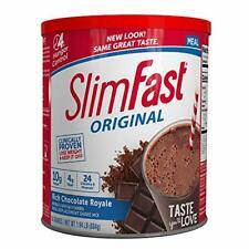 SlimFast Original Rich Chocolate Royale Meal Shake Mix – Weight Loss Powder –...