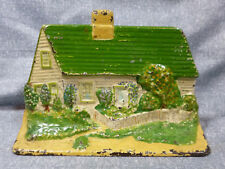 """Antique Eastern Specialty Co. """"Cape Cod Cottage"""" Cast Iron Door Stop"""