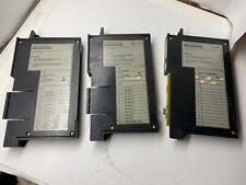 Lot Of 3 Cincinnati Milacron Modules 2 Aco Output Amp 1 Niba Module