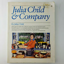 """Julia Child & Company"" Vintage Cookbook 1978 Softcover"
