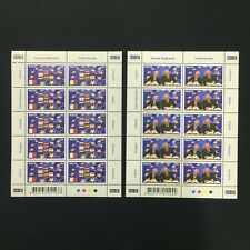 2004 Malta United Europe Sheet of 10 Stamps Unmounted MNH #1323