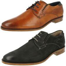 Runde Herren-Business-Schuhe in Größe 42 ohne Muster