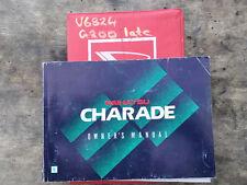 1997 Daihatsu G200 Charade 5 Door Owner's Manual S/N# V6824 BH6063