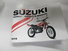 suzuki ts250 manual in Other Motorcycle Parts   eBay