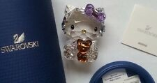 SWAROVSKI HELLO KITTY WITH BEAR #1096879 NEW IN BOX.authentic and lowest price!!