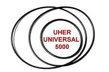 SET RIEMEN UHER UNIVERSAL 5000 TONBANDMASCHINE EXTRA STRONG FABRICKFRISCH