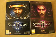 Starcraft 2 II Expansion Games: Wings of Liberty & Heart of the Swarm for PC/MAC