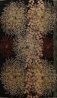 Contemporary Abstract Modern Oriental Area Rug Dining Room Hand-knotted 10'x14'