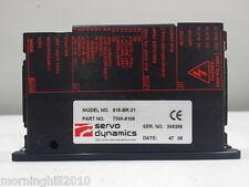 Servo Dynamics 815-BR-21 Servo Amplifier 7300-8109