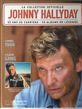 Johnny Hallyday La collection officielle Livre CD Gang