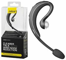 Jabra Wave BT3040 Wireless Bluetooth Headset Wind Noise Reduction Black