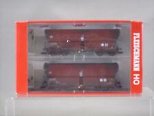 FLEISCHMANN HO SCALE 83 5521 DB SELF UNLOADING HOPPER SET