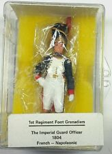 Reeves NFC 13 1ST REGIMENT FOOT GRENADIERS Imperial Officer 1804 1/32 (54mm)