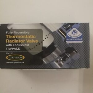 TFC Group EN215 Reversible Thermostatic Radiator Valve with Lockshield (5 Pack)
